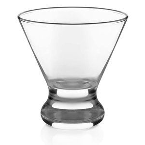LIBBEY COSMOPOLITAN MARTINI GLASSES, SET OF 3